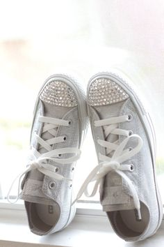 Even though I rarely wear casual flats, I still love these. Good way to fancy up a pair of Converse.