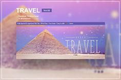 Travel - Facebook Timeline Cover 02 by VectorMedia on @creativemarket