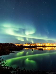 Northern Light in the evening by Gabriel Arne Hofstra on 500px