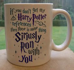 "For the friend who's Siriusly witty. | 15 Mugs Every ""Harry Potter"" Fan Will Appreciate"