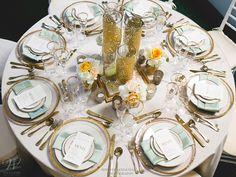 #GreatGatsby Theme Table #Wedding #WilliamsSJ www.willparty.com