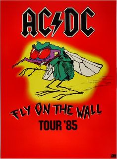 AC/DC Poster - Rock posters, concert posters, and vintage posters from the Fillmore, Fillmore East, Winterland, Grande Ballroom, Armadillo World Headquarters, The Ark, The Bank, Kaleidoscope Club, Shrine Auditorium and Avalon Ballroom.