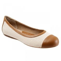 e9b45aeb6a3 Softwalk Napa - Women s Flats with Arch Support - Natural Comb