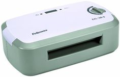 Fellowes 4.5-Inch Personal Laminator (EXL 45-3) by Fellowes. $48.95. Encapsulate and protect documents with the Fellowes EXL 45-3 pouch laminator. This laminator features a 4 ½-Inch width that can easy handle business cards, index cards and other small documents. It heats up in just four minutes. A light and beep let you know when the machine is warmed up and ready to be used.. Save 45% Off!