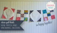 Classic Blocks: Fresh Fabric for June... two blocks! — SewCanShe | Free Daily Sewing Tutorials