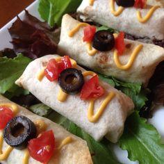 Baby Beef Burritos - Catering by Debbi Covington - Beaufort, SC