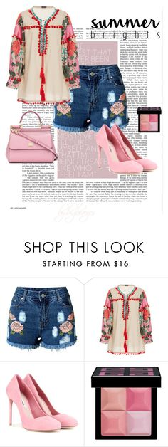 """""""hippie weekend"""" by bambibrneyes on Polyvore featuring Miu Miu, Givenchy and Dolce&Gabbana"""