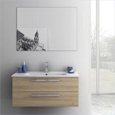 Gallery For Website ACF Dadila Wall Mounted Bathroom Vanity Set in Style Oak ACF DA