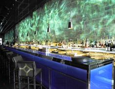 Hakkasan- perfect cocktails @ their ocean-esque bar!