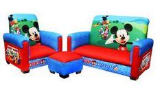 Çocuklar için Mickey Mouse Mobilya Seti