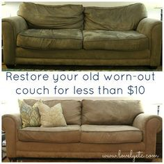 How To Make An Old Couch New Again For 10 Reupholster