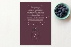 fireflies Rehearsal Dinner Invitations by cadence paige design at minted.com