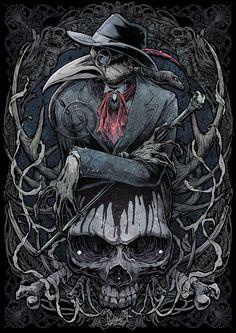 the MASK by KAgaMI Creepy Yet Cool, Pest Masks! - pixiv Spotlight