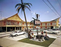 Tahiti Motel | Wildwood, New Jersey. (I so love the idea of a tiki motel in New Jersey.)