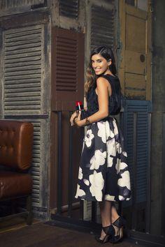 Tala Samman of MyFashDiary.com wearing Talulah's Beautiful Disaster Skirt