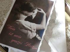 Valentinstag Karte von White Roses auf DaWanda.com