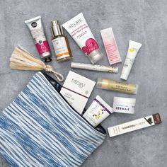 Calling all natural beauties! Beginning on Friday March 24, the Whole Body department will be selling limited edition beauty bags. What's inside? A carefully curated selection of some of our favorite skincare and makeup, all housed in a handcrafted, organic cotton clutch. The $18 bag — which has a retail value of $90 — is only available while supplies last, so we suggest snagging one, stat.