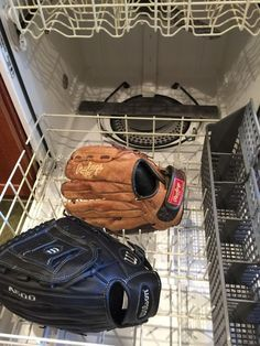 to break in a baseball glove. How to break in a baseball glove. (This also works for an older glove that hasn't been used in awhile.) If your kids are playing youth baseball, it's about that time of year to get your equipment ready for action. Espn Baseball, Baseball Playoffs, Baseball Helmet, Baseball Tips, Baseball Pants, Baseball Season, Baseball Mom, Baseball Cleats, Baseball Field