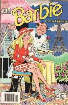 barbie comic book