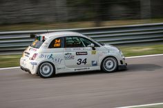 Franco Cimarelli - 500 Abarth (team V-Action) by Enrico Morani on 500px