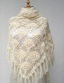I could crochet this shawl - maybe should get busy