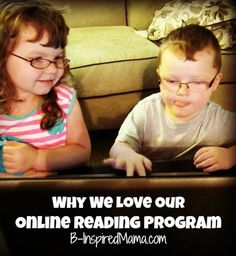 Do your kids use any online learning games?  Any online reading programs?  Check out why my kids and I love our online reading program!  B-InspiredMama.com