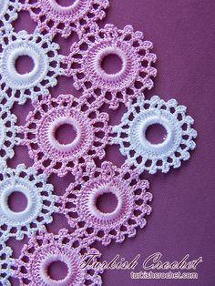 Luty Artes Crochet: blusas e boleros Crochet Table Runner, Crochet Tablecloth, Crochet Doilies, Crochet Flowers, Crochet Bib, Crochet Rings, Crochet Motif Patterns, Tatting Patterns, Crochet Flower Tutorial