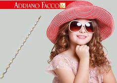 BRACCIALE ORO 18KT 3 COLORI- BIANCO ROSE' GIALLO Collezione Basic Adriano Facco
