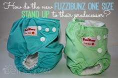 How do the new FuzziBunz One Size Cloth Diapers stand up to their predecessor?