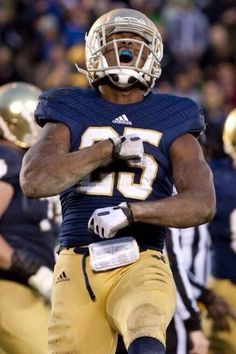 """Folston. Like the Irish?  Be sure to check out and """"LIKE"""" my Facebook Page https://www.facebook.com/HereComestheIrish  Please be sure to upload and share any personal pictures of your Notre Dame experience with your fellow Irish fans!"""