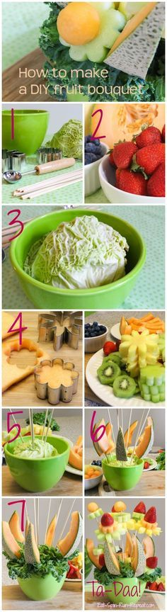 Step by Step: How to make a DIY fruit bouquet - Eat Spin Run Repeat