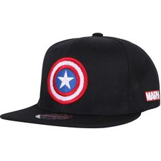 3e9a0350432 ililily Marvel Captain America Shield Logo New Era Style Snapback... ( 25)