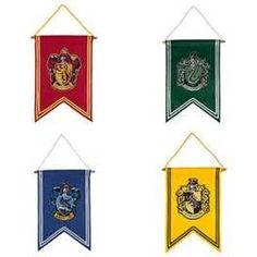 Harry Potter Banner Choice Of Hogwarts House Wizarding World Universal Studios