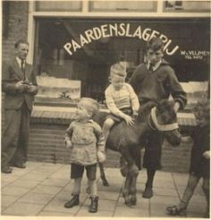 Old Pictures, Old Photos, Vintage Photos, Holland, Retro Photography, Pony Rides, War Dogs, Vintage Horse, Picture Credit