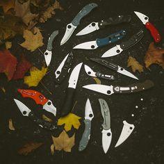 Knife Drop: Best Spyderco Knives Image Outtakes