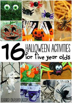 Make Halloween fun for your child with these 16 Halloween activities for 5 year olds! From spooky eyeballs in the front yard to spider meatballs, these...
