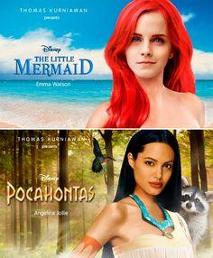 Si las #celebridades fueran #Princesas #Disney
