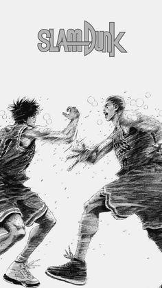 Slam dunk's final chapter's epic scene turned into wallpaper Slam Dunk Manga, Miyagi, Dragon Ball Gt, One Punch Man, Fullmetal Alchemist, Nouveau Manga, Manga Anime, Anime Art, Blade Of The Immortal