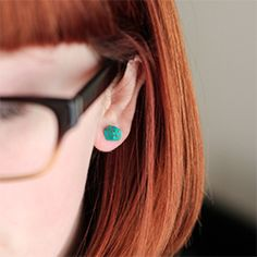 Make your own clay earrings-- easy and affordable!