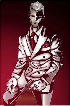 Adobe illustration/ comic