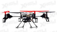 WL Toys RC 4 Channel Quadcopter V959 Future Battleship Spy Drone