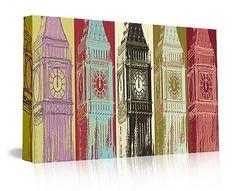 "Matthew Lew Ltd. Edition ""Big Ben"" giclee print on canvas. Available at: http://www.mbymatthewlew.com/#shop"