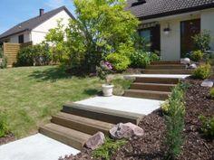 escaliers extérieurs                                                                                                                                                     Plus