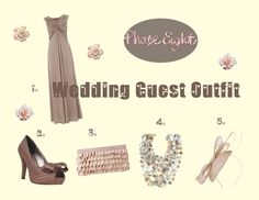 Wedding Guest outfit Inspiration from phase eight