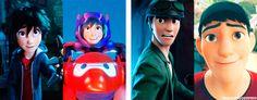 Big Hero 6 characters + first and last appearances - big-hero-6 Photo
