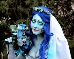 Halloween makeup Idea> The Corpse Bride #Halloween #Makeup