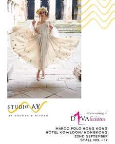 @studioav_by_gauravnnitesh showcase their collection in association with @be.divalicious in Marco Polo Hong Kong on 22nd September 2017 #studioavbygauravnnitesh #Divalicious #exhibition #fashion #lifestyle #trend #droptoshop #ethnic #traditional #fashiongoals #hongkong #marcopolo