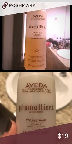 Aveda phomollient, styling foam Sold as is, 60% or so left, see pic Sephora Makeup