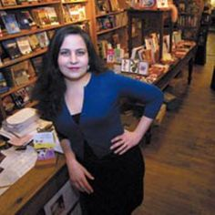 Kelly Justice. Muse. Pin-up girl. Owner of Fountain Bookstore in Richmond, VA
