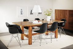 Howe Whiskey Barrel Oak Dining Table